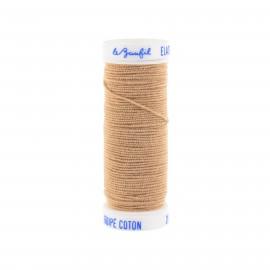 fil elastique beige