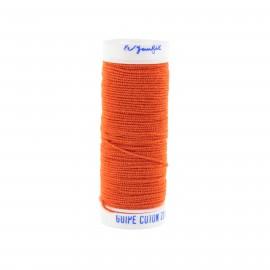 fil elastique orange