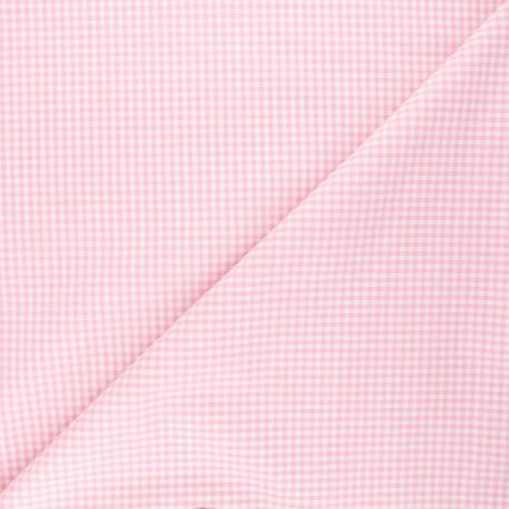 Vichy petits carreaux rose