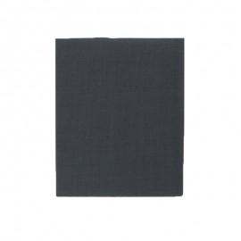 Piece thermocollante 39 x 12 cm - gris anthracite