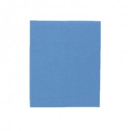 Pièce thermocollante 39 x 12 cm - bleu