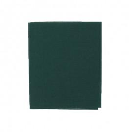 Pièce thermocollante 39 x 12 cm - vert foncé