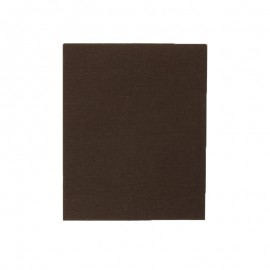 Iron-on patch 39 x 12 cm - brown