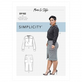 Set sewing Pattern for Woman - Simplicity n°S9182