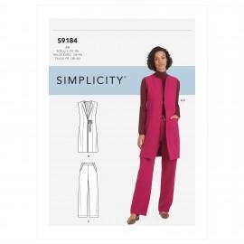 Patron Ensemble Femme - Simplicity n°S9184