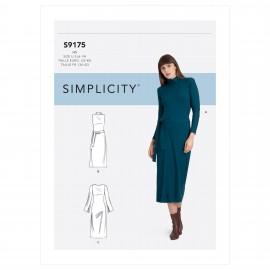 Patron Robe droite Femme - Simplicity n°S9175