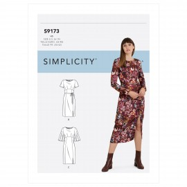 Patron Robe fendue Femme - Simplicity n°S9173