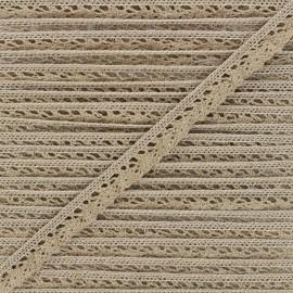 15mm Elastic lace ribbon - craft Romance x 1m