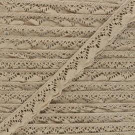 22 mm Elastic lace ribbon - craft Romanza x 1m