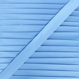 20 mm satin bias binding - sky blue x 1m