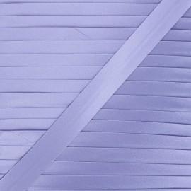 20 mm satin bias binding - purple x 1m