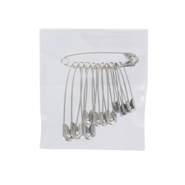 1 pack of 12 safety pins