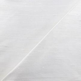 Wild Silk Fabric - white x 10cm