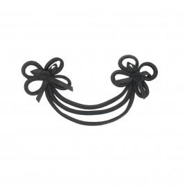 Ornamental Duffle coat toggle - black Florus