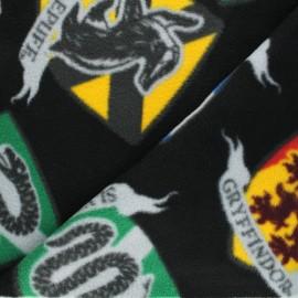 Harry Potter Fleece fabric - Hogwarts Blasons x 40cm