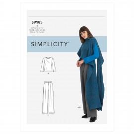 Patron Ensemble Femme - Simplicity n°S9185