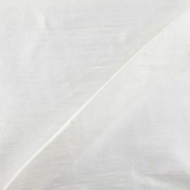Wild Silk Fabric - ecru x 10cm