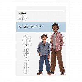 Set sewing Pattern set for Boy - Simplicity n°S9201