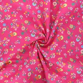 Tissu batiste de coton Dashwood Studio Kaleidoscope - Flower festival rose x 10cm