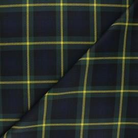 Tissu tartan Ilford - vert x 10cm