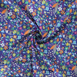 Tissu batiste de coton Dashwood Studio Kaleidoscope - Garden bleu x 10cm