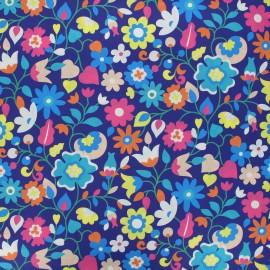 Tissu batiste de coton Dashwood Studio Kaleidoscope - Florie bleu x 10cm