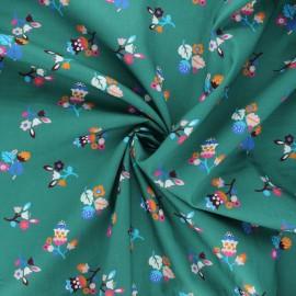 Tissu batiste de coton Dashwood Studio Kaleidoscope - Bloom vert x 10cm