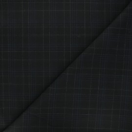 Polyviscose elastane fabric - black Warren x 10cm