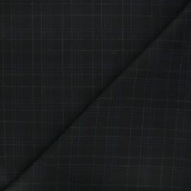 Tissu polyviscose élasthanne Warren - noir x 10cm