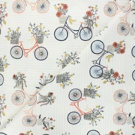 Tissu coton Summer in the Cotswolds - Evening ride - beige x 10cm