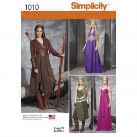 Patron Déguisement femme Elfe - Simplicity n°1010