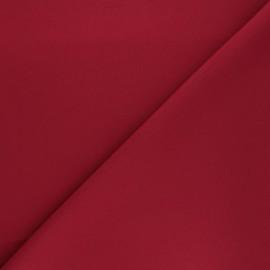 Tissu Burling - rouge cardinal x 10cm