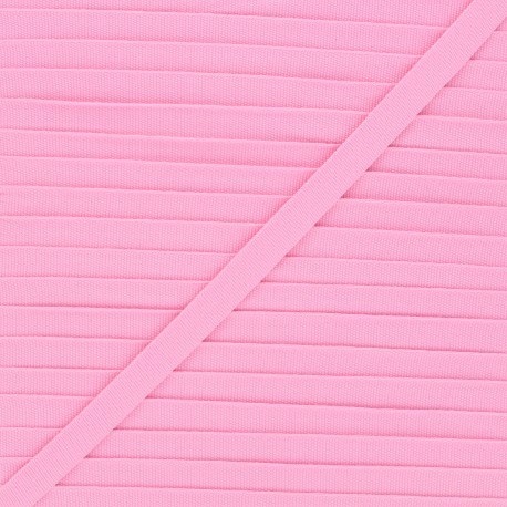 Grosgrain aspect braid trimming 10mm - cotton-candy