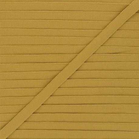Grosgrain aspect Braid Trimming 10 mm - golden brown