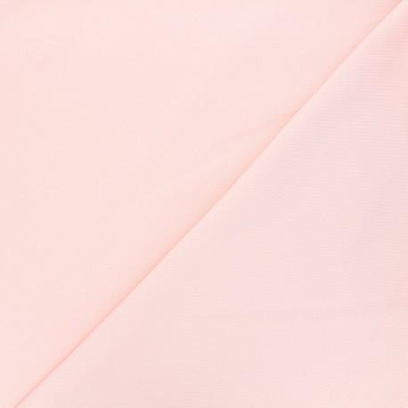 Tissu jogging jersey léger - lait fraise x 10cm