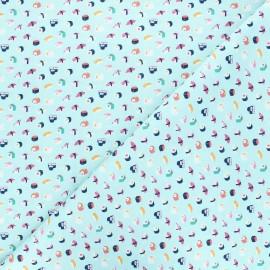 Dear Stella cotton fabric Aloha - blue Sushi x 10cm
