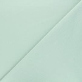 Tissu sweat léger Uni - vert amande x 10cm
