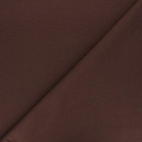 Light jogging Jersey Fabric - brown x 10cm