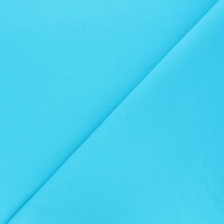 Light jogging Jersey Fabric - blue x 10cm