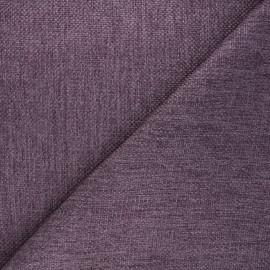 Tissu natté Thevenon Bellini - violet x 10cm