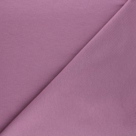 Plain french terry fabric - parma x 10cm