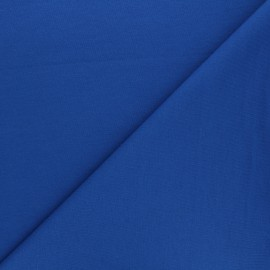 Plain french terry fabric - royal blue x 10cm