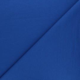 Tissu sweat léger Uni - bleu royal x 10cm