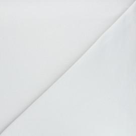Tissu sweat léger Uni - gris perle x 10cm