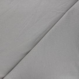 Tissu sweat léger Uni - gris souris x 10cm