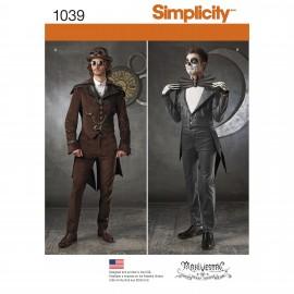 Patron Déguisement Steampunk homme - Simplicity n°1039