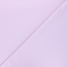 Tissu sweat léger Uni - lilas x 10cm