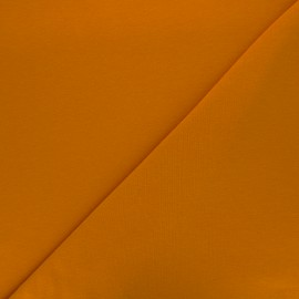 Plain french terry fabric - ginger x 10cm