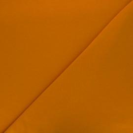 Tissu sweat léger Uni - roux x 10cm