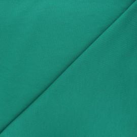Tissu sweat léger Uni - vert gazon x 10cm